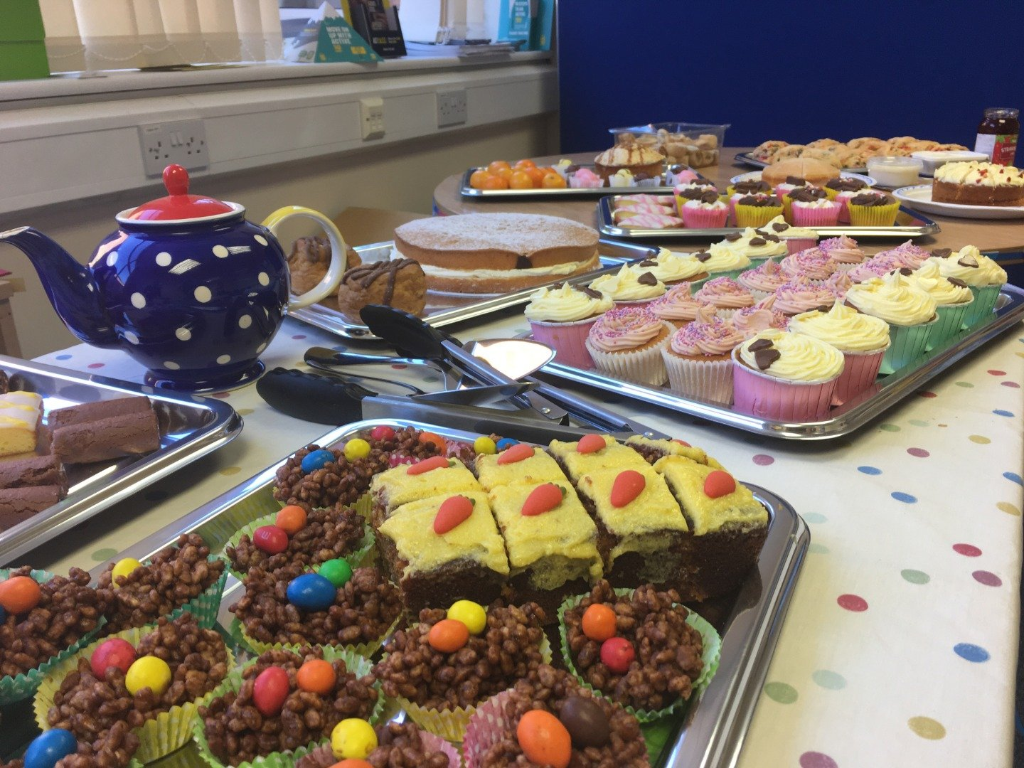 NHS Big 7Tea Party celebrations